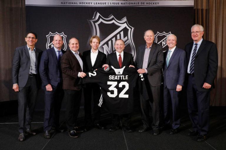 NHL Seattle franchise announcement