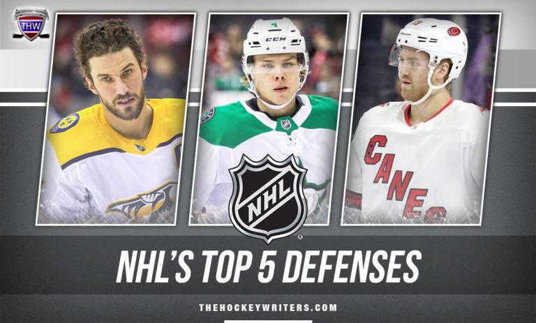 NHL's top 5 Defenses Roman Josi, Dougie Hamilton, and Miro Heiskanen