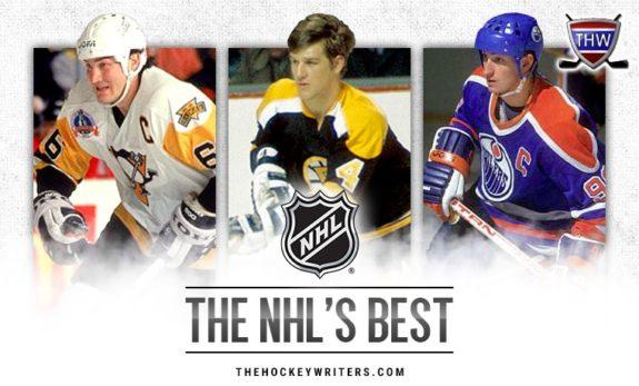 Wayne Gretzky Mario Lemieux Bobby Orr