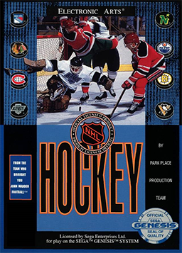 NHL 91 video game
