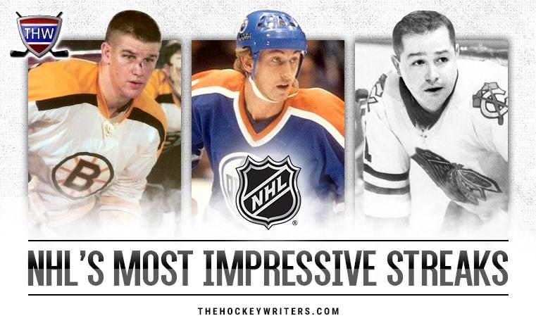The NHL's Most Impressive Streaks