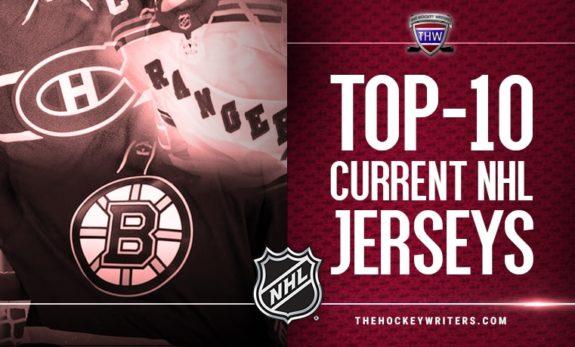 Top-10 current NHL jerseys
