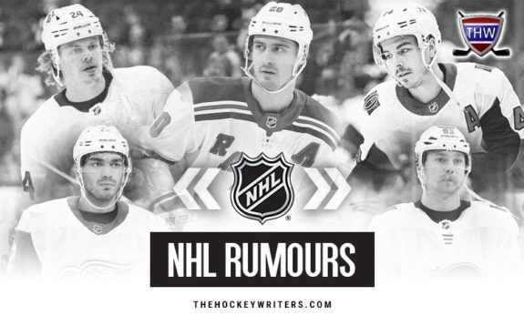 2020 NHL Rumours Chris Kreider, Jean-Gabriel Pageau, Andreas Athanasiou, Kasperi Kapanen Sam Bennett