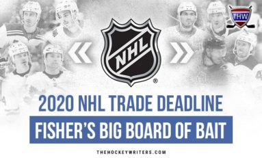 2020 NHL Trade Deadline: Fisher's Big Board of Bait