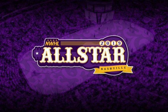 NWHL 2019 All-Star Game Logo