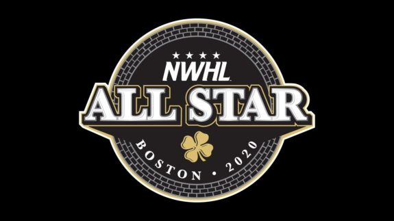 NWHL 2020 All-Star Game Logo