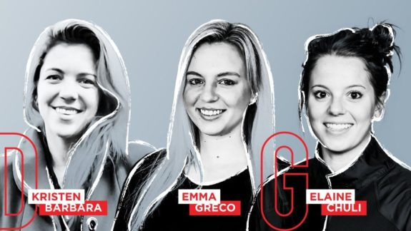 Kristen Barbara, Emma Greco, Elaine Chuli