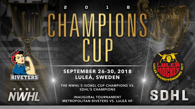 Champions Cup, NWHL, SDHL
