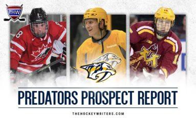 Predators Prospect Report: Fabbro and Pitlick Sign