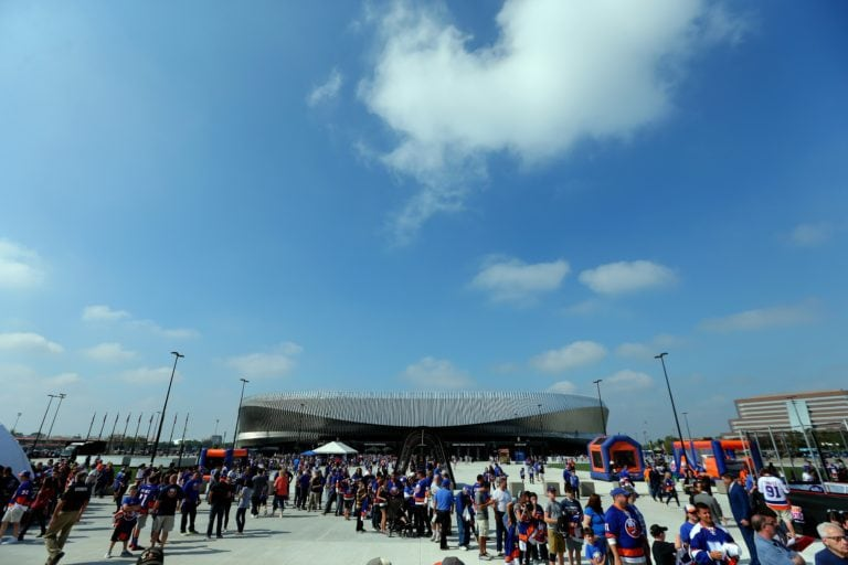 Nassau Veterans Memorial Coliseum before a game