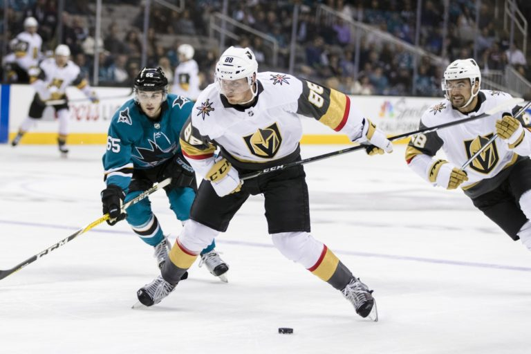 Vegas Golden Knights defenseman Nate Schmidt