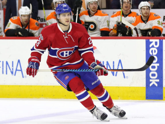 Ex-Montreal Canadiens defenseman Nathan Beaulieu