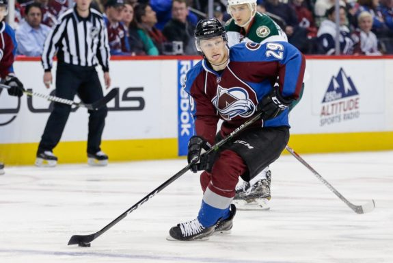 Colorado Avalanche center Nathan MacKinnon