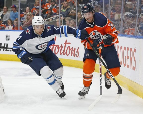 Edmonton Oilers James Neal Winnipeg Jets Neal Pionk