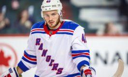 Brendan Lemieux Battling Way into Key Role for Rangers