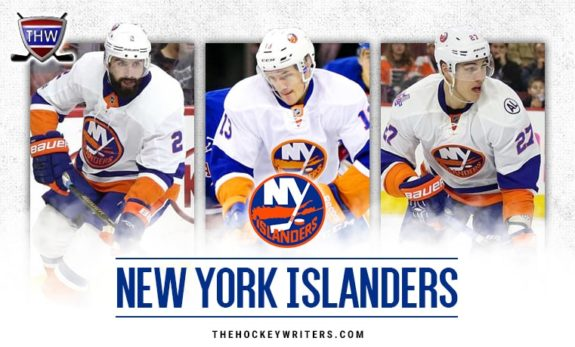 Nick Leddy Anders Lee Mathew Barzal