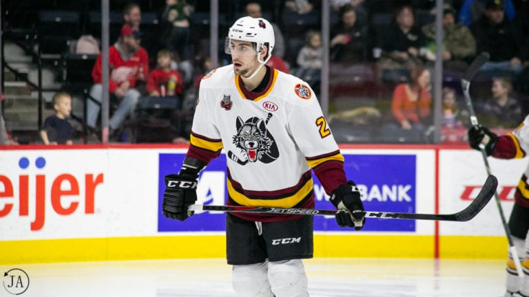 Nic Hague, Chicago Wolves