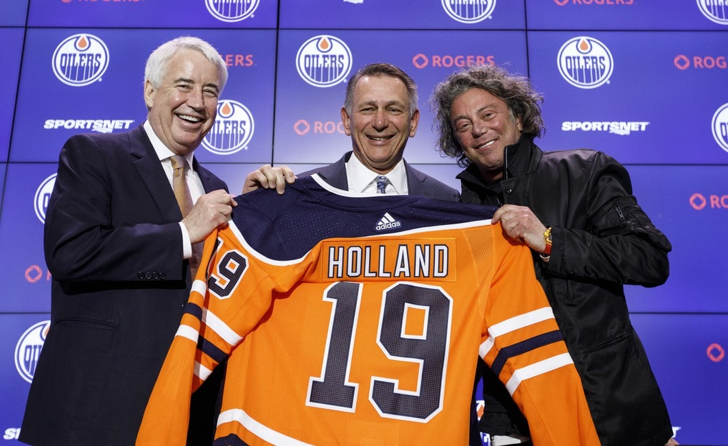 Oilers GM Ken Holland Has Team on the Right Track