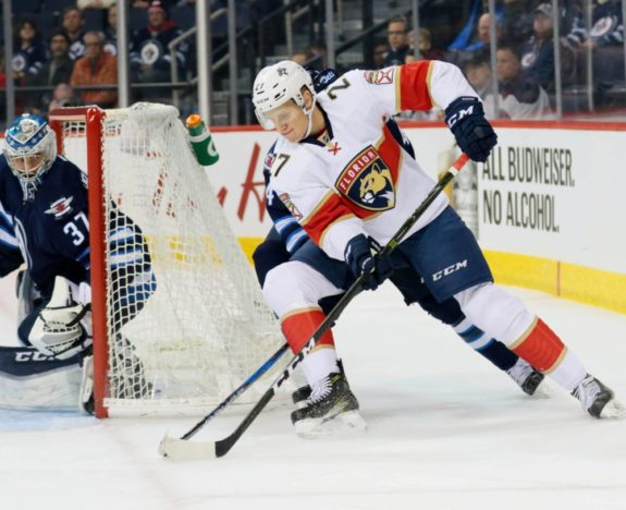 Nick Bjugstad, Florida Panthers