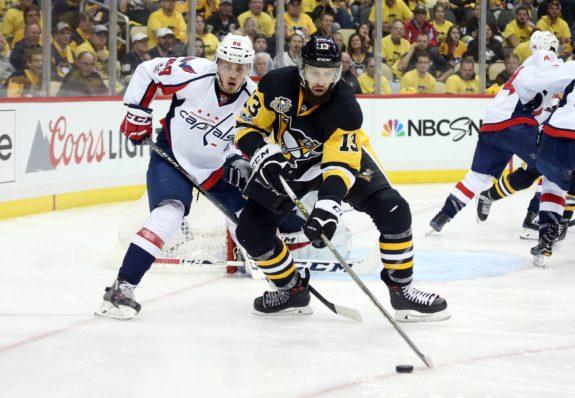 Pittsburgh Penguins center Nick Bonino.