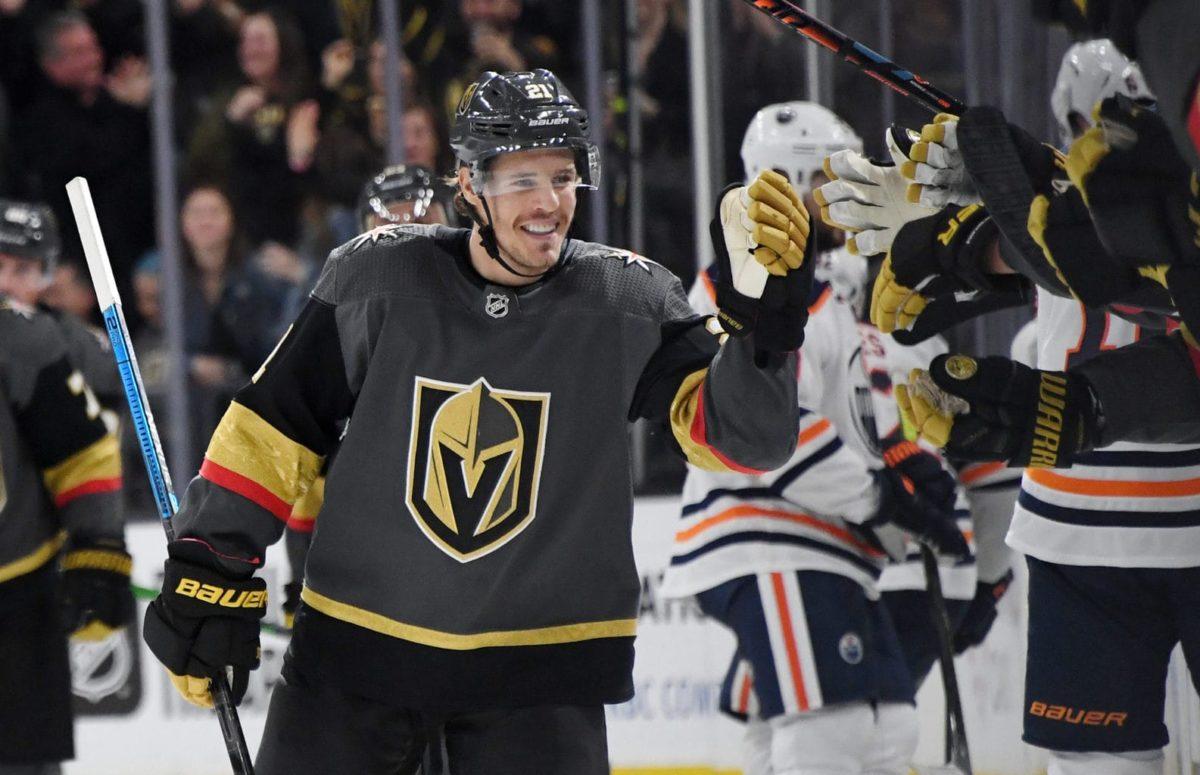 Nick Cousins Vegas Golden Knights