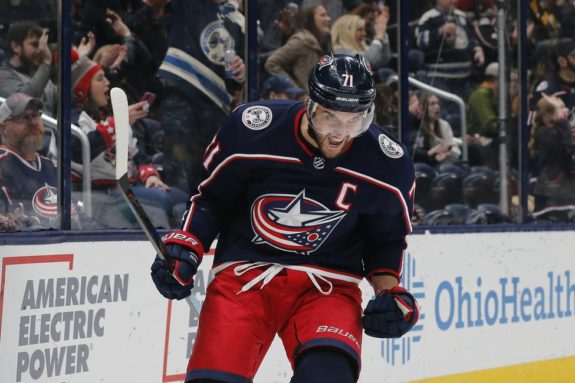 Columbus Blue Jackets Nick Foligno