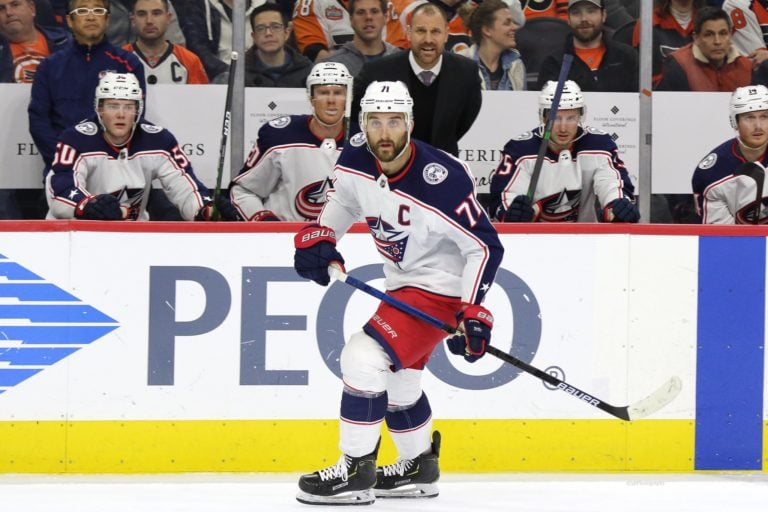 Nick Foligno Columbus Blue Jackets