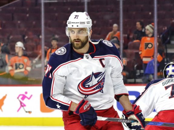 Nick Foligno #71, Columbus Blue Jackets