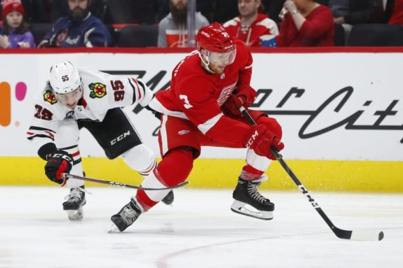 Detroit Red Wings Nick Jensen
