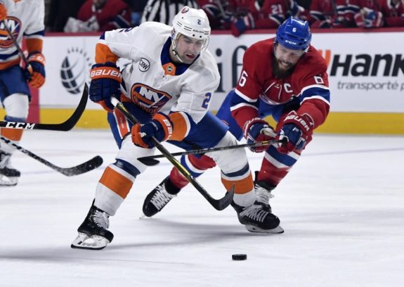Islanders defenseman Nick Leddy