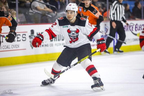 Nick Merkley Binghamton Devils