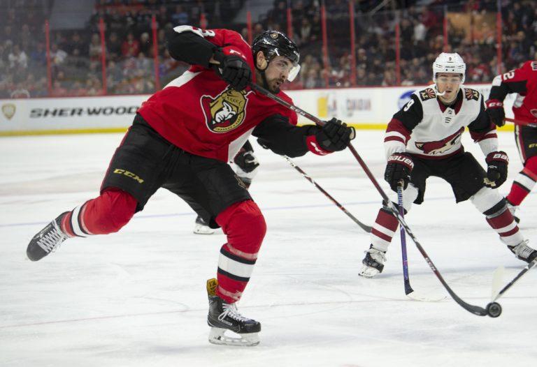 Ottawa Senators Nick Paul