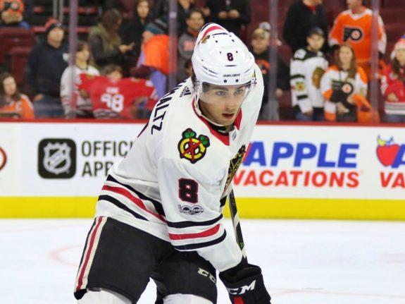 Nick Schmaltz Chicago Blackhawks