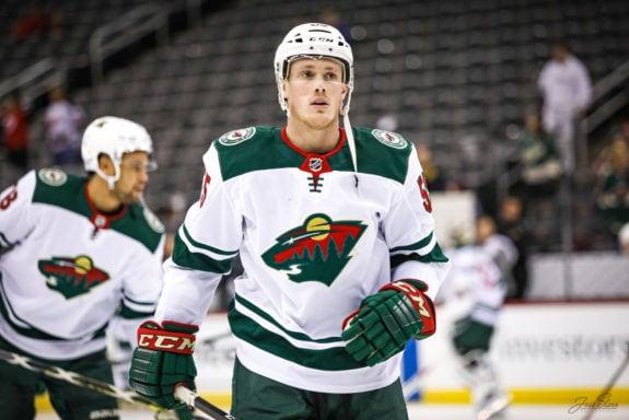 Nick Seeler Minnesota Wild