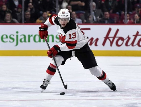 best website 245b6 e0cdd Nico Hischier Giving New Jersey Devils Something to Build On