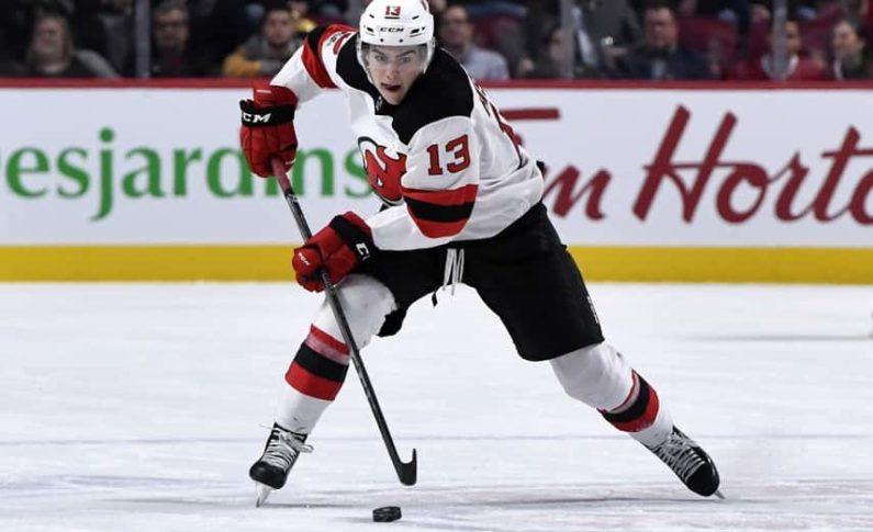Devils Sign Hischier to Extension