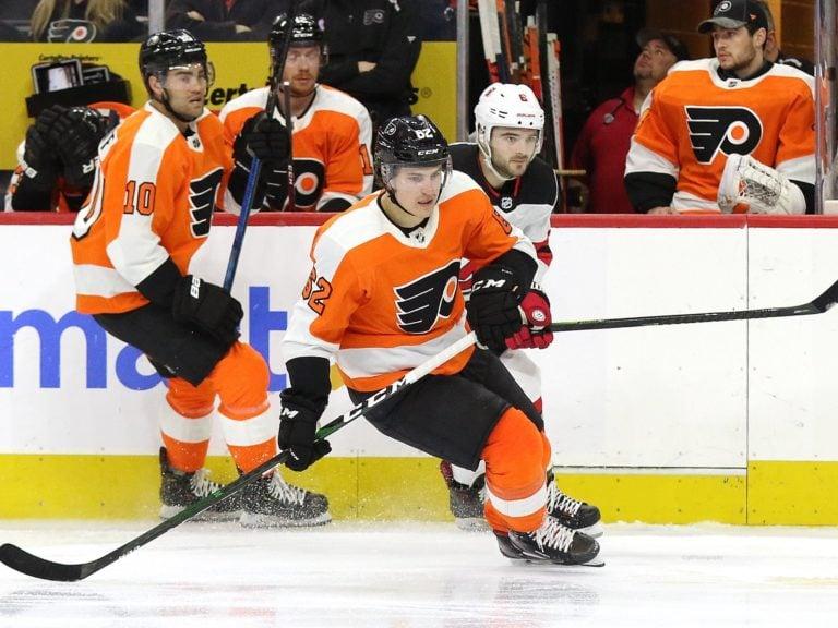 Nicolas Aube-Kubel Philadelphia Flyers