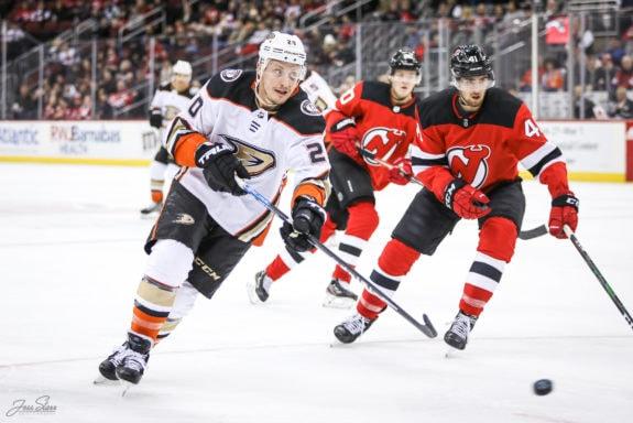 Nicolas Deslauriers Anaheim Ducks
