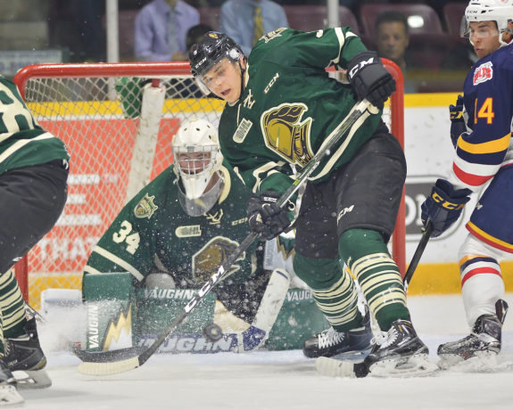 Nicolas Mattinen, London Knights, OHL