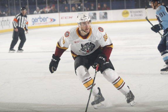 Nicolas Roy Chicago Wolves