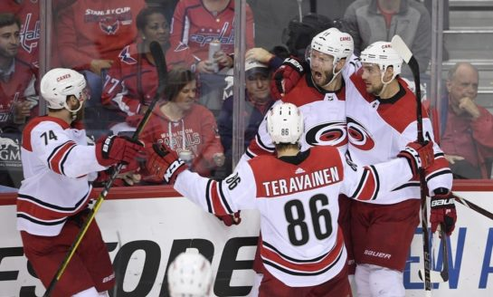 Hurricanes Storm Into 2nd-Round Showdown With Islanders