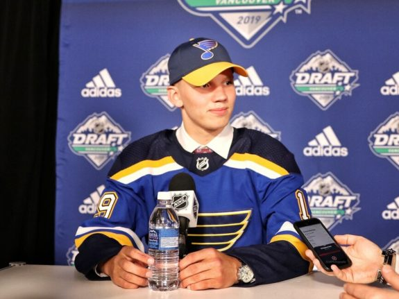 Nikita Alexandrov St. Louis Blues Draft