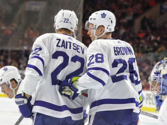 Nikita Zaitsev, Connor Brown, Maple Leafs