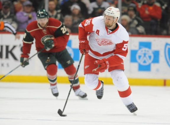 Niklas Kronwall of the Detroit Red Wings.