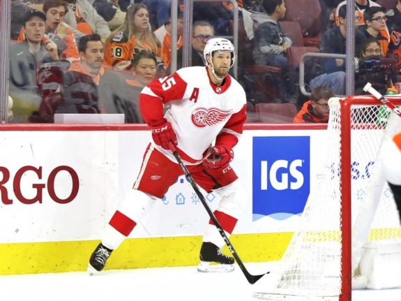 Niklas Kronwall of the Detroit Red Wings