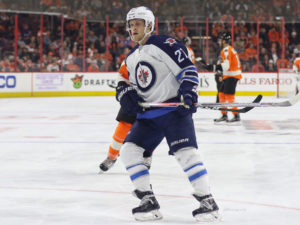 Nikolaj Ehlers - Winnipeg Jets vs Philadelphia Flyers - November 17, 2016 (Amy Irvin / The Hockey Writers)
