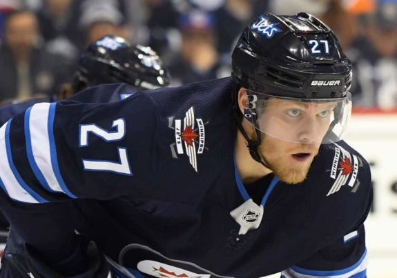 Winnipeg Jets Left Wing Nikolaj Ehlers