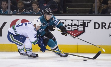 Goldobin Growth Needed Before Joining Sharks