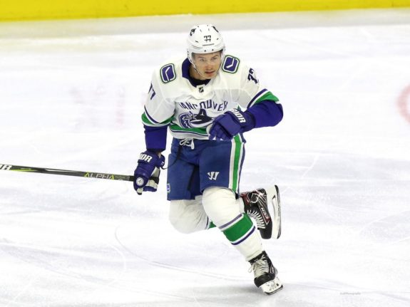 Nikolay Goldobin Vancouver Canucks