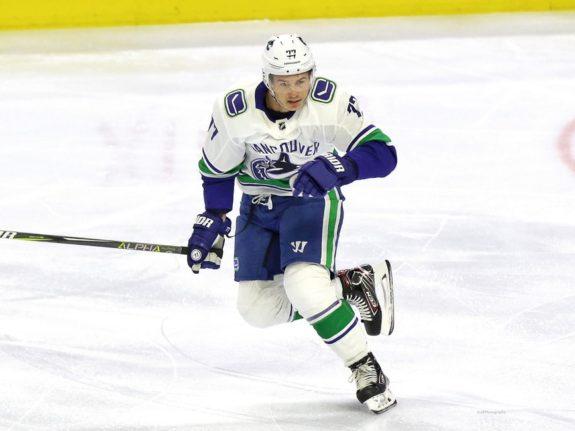 Nikolay Goldobin Vancouver Canucks